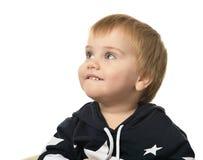 Rapaz pequeno bonito Imagem de Stock Royalty Free