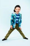 Rapaz pequeno brincalhão Fotos de Stock Royalty Free