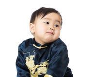 Rapaz pequeno chinês fotografia de stock