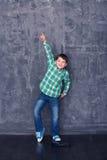 Rapaz pequeno como um dançarino Foto de Stock