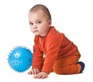 Rapaz pequeno encantador Imagens de Stock