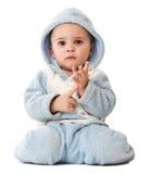 Rapaz pequeno encantador Foto de Stock