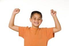Rapaz pequeno feliz Fotos de Stock