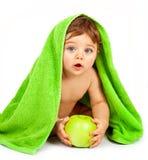 Rapaz pequeno feliz Imagem de Stock Royalty Free