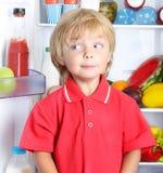 Rapaz pequeno feliz Fotos de Stock Royalty Free