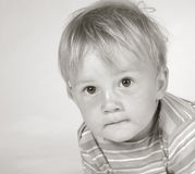 Rapaz pequeno II Fotos de Stock Royalty Free