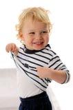 Rapaz pequeno lindo Foto de Stock Royalty Free