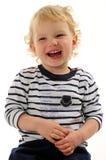 Rapaz pequeno lindo Fotografia de Stock