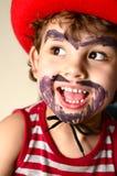 Rapaz pequeno que veste um chapéu de cowboy Imagem de Stock Royalty Free
