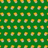 Rapaz pequeno - teste padrão 24 do emoji ilustração do vetor