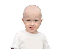 Rapaz pequeno virado ofendido Imagens de Stock Royalty Free