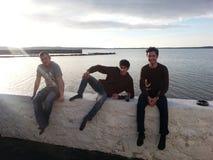 Rapazes dos rapazes dos rapazes Foto de Stock Royalty Free