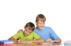 Rapazes pequenos bonitos Fotografia de Stock