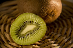 Rape Kiwi fruits Stock Photo