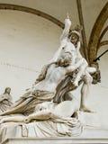 The Rape of Polyxena sculpture in Loggia della Signoria. Florenc Royalty Free Stock Photography