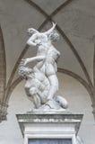 Rape of Proserpina Statue Stock Photos