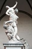The Rape of the Sabine Women by Giambologna Stock Photography