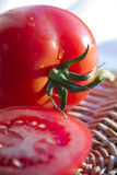 Rape Tomatoes Royalty Free Stock Photo