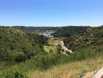 Rapel rzeka i swój dolina Zdjęcia Royalty Free