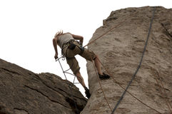 Rapelling Royalty Free Stock Image