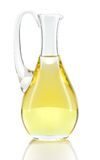 Rapeseed oil isolated over white. Stock Photography