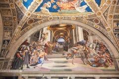 Raphael房间 免版税库存图片