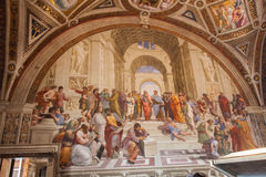 Raphael房间 免版税库存照片
