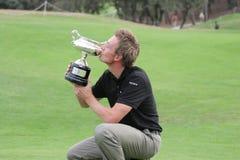 Raphael Jacquelin, golfe de aberto Madrid 2005 Fotos de Stock Royalty Free