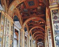 Raphael Loggias i det statliga eremitboningmuseet arkivbild