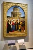 Raphael-målning i den Brera konstgallerit, Milan Royaltyfri Fotografi