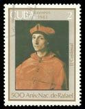 Raphael, Portrait of Cardinal royalty free stock photos