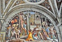 Raphael Rooms royaltyfri illustrationer