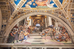 Raphael Rooms Royalty Free Stock Images