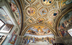 Raphael Rooms Royalty Free Stock Photo