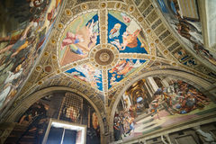Raphael Rooms Stock Photography