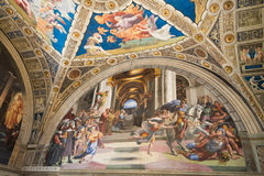 Raphael Rooms Stock Images