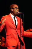 Raphael Saadiq performing live. Raphael Saadiq performing live at the Wiltern in Los Angeles in November 2009 Royalty Free Stock Images