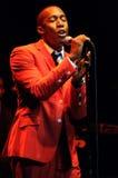 Raphael Saadiq performing live. Stock Images