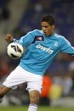 Raphael Varane of Real Madrid stock image