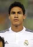 Raphael Varane of Real Madrid Stock Images