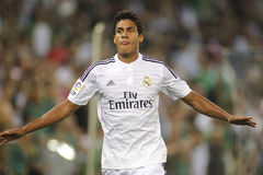 Raphael Varane of Real Madrid Stock Image