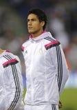 Raphael Varane von Real Madrid Stockbild