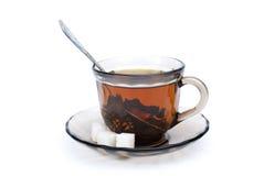 rapièce une certaine tasse de thé de sucre Photos libres de droits