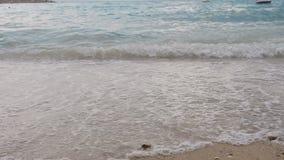 Rapid Adriatic Sea. Dalmatia. Croatia stock video