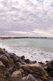 Rapid Bay Jetty. The jetty at Rapid Bay, South Australia Royalty Free Stock Images