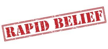 Rapid belief red stamp Stock Photo