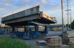 Rapid Bridge Replacement in Ottawa Royalty Free Stock Photos