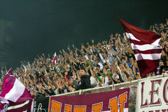 Rapid Bucharest Football Fans Royalty Free Stock Image