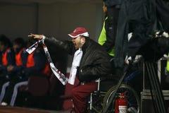 Rapid Bucharest Football Fans Royalty Free Stock Image