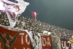 Rapid Bucharest Football Fans Royalty Free Stock Photography